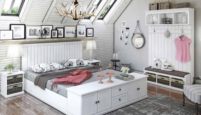 แต่งห้องนอน vintage